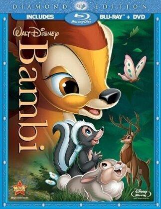 Bambi (1942) (Diamond Edition, Blu-ray + DVD)