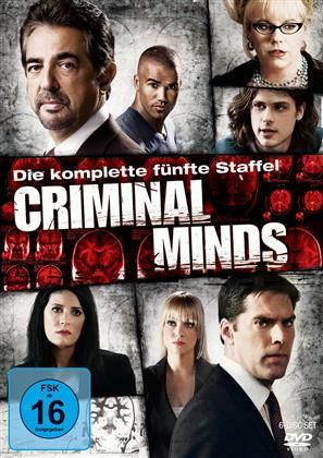 Criminal Minds - Staffel 5 (6 DVDs)