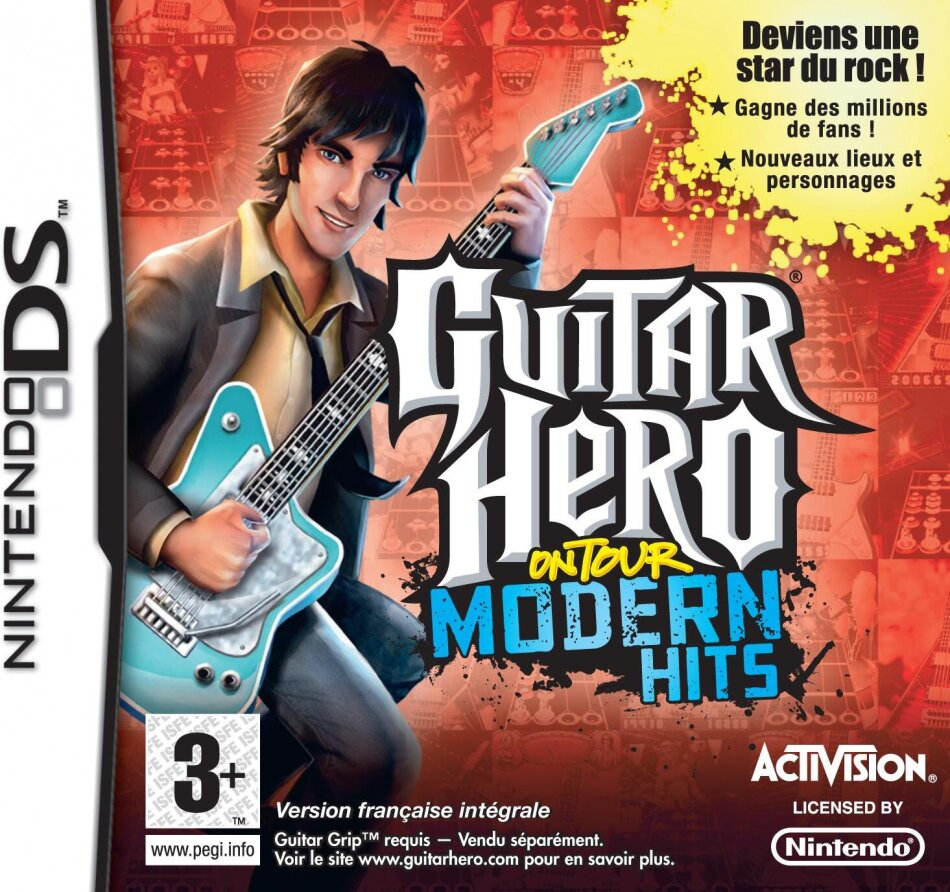 Guitar Hero Modern Hits Bundle inkl. Grip