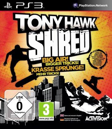 Tony Hawk Shred Software
