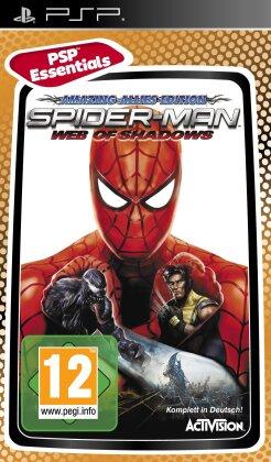 Spiderman Web of Shadows PSP Essential