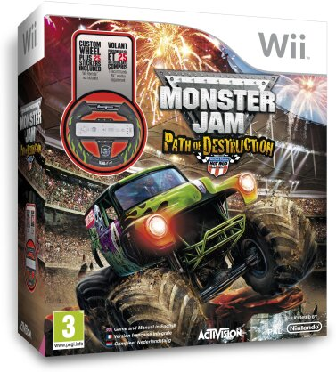 Monster Jam: Path of Destruction inkl. Wheel