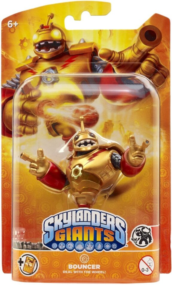 Bouncer Giants Character for Skylanders Giants