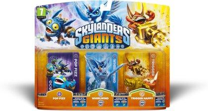 Skylanders Giants Triple pack A Pop Fizz, Trigger Happy, Whirlwind W 1.0