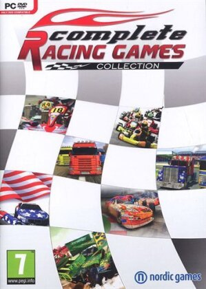 Complete Racing Games Collection - 7 Games Box