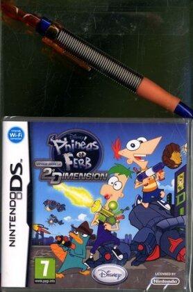 Phineas & Ferb: Voyage dans la 2ème dimension incl. stylus