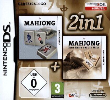 2in1: Mahjong + Mahjong - Eine Reise um die Welt