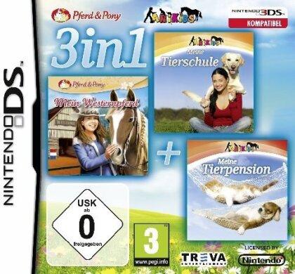 3in1 Meine Tierschule + Westernpferd + Tierpension 3