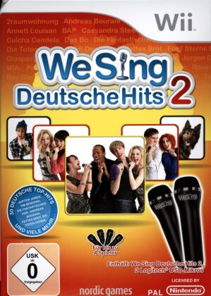 We Sing Deutsche Hits 2 [inkl. 2 Logitech Mikrofone]