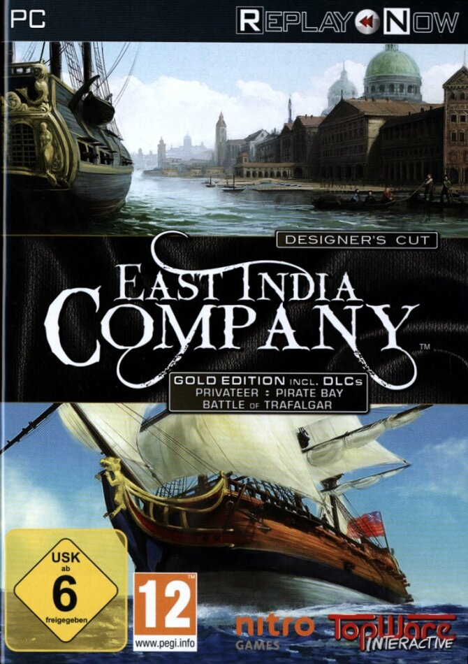 ReplayNow: East India Company incl. DLCs (Gold Édition)