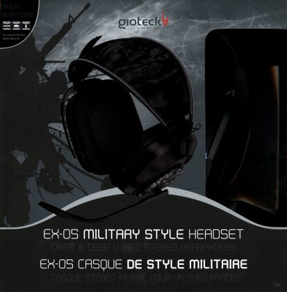 EX-05 Military Style Headset - wired