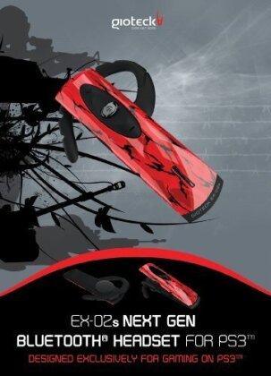 EX-02 Next-Gen Bluetooth Headset - Red Camo