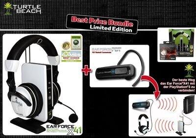 Ear Force X41 & PBT- Best Price Wireless Headset Bundle L.E.