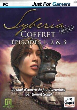 La trilogie du jeu d'adventure: L'Amerzone + Syberia + Syberia 2