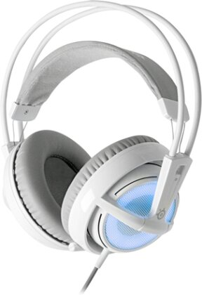 Siberia V2 Full-Size USB Gaming Headset LED frost blue