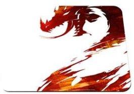 QcK Guild Wars 2 Logo Edition Gaming Mousepad