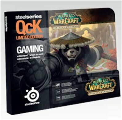 QcK WOW Mists of Pandaria:Panda Monk Edition Mousepad