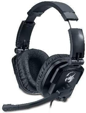 Lychas HS-G550 Gaming Headset - black