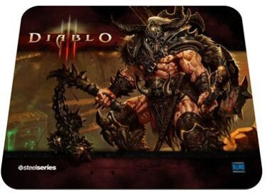 QcK Diablo III Barbarian Gaming Mousepad (Édition Limitée)