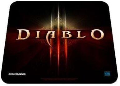 QcK Diablo III Logo Edition Gaming Mousepad (Édition Limitée)