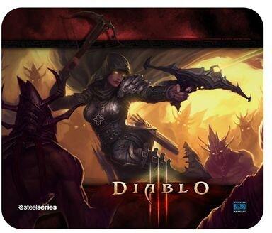 QcK Diablo III Demon Hunter Mousepad (Édition Limitée)