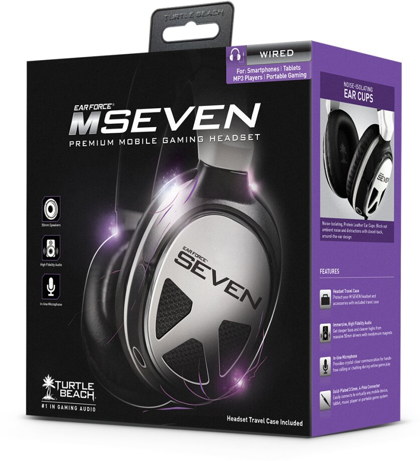 Ear Force M SEVEN-Premium Wired Mobile Gaming Headset [PSVita/ 3DS/PC/iOS]