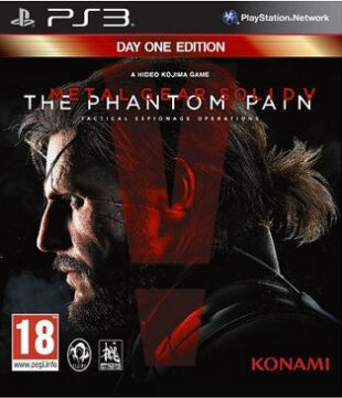 Metal Gear Solid V: The Phantom Pain (Day 1 Edition) (Day One Edition)