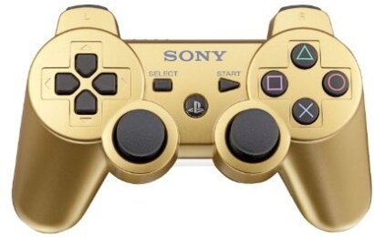 Sony Dualshock 3 Controller Metallic Gold US