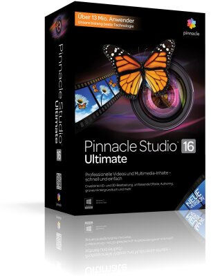 Pinnacle Studio 16.0 Ultimate Upgrade