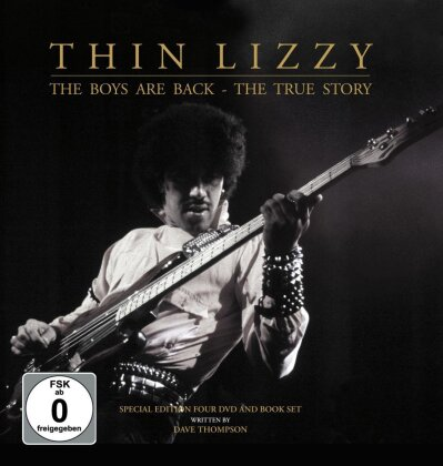 Thin Lizzy - The Boys Are Back (4 DVDs + Book)