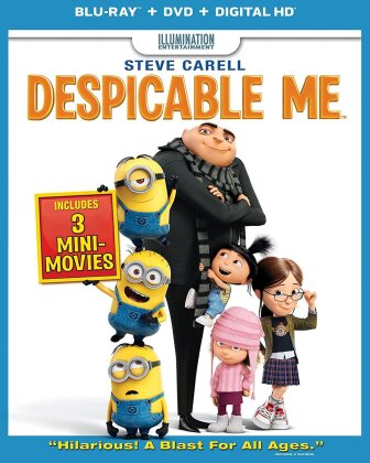 Despicable Me (2010) (Blu-ray + DVD)