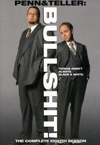 Penn & Teller: Bullshit! - Season 8 (2 DVDs)