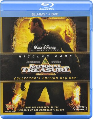 National Treasure (2004) (Collector's Edition, Blu-ray + DVD)