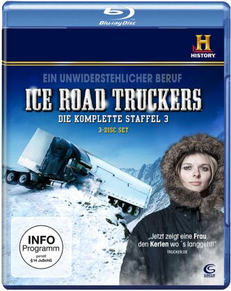 Ice Road Truckers - Staffel 3 (3 Blu-rays)