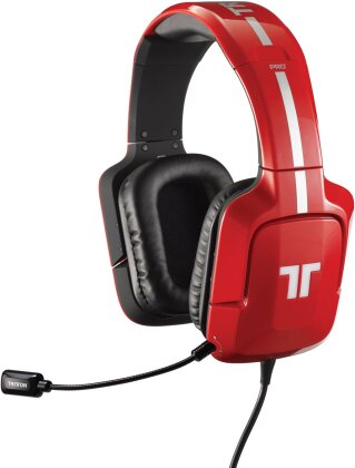 Pro Plus True 5.1 Gaming Headset - red [PS4/PS3/X360/PC]