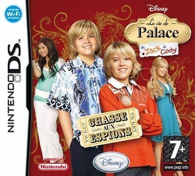 La vie de Palace de Zack et Cody: Chasse aux Espions