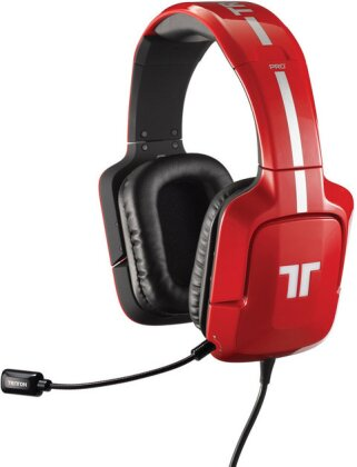 PRO Plus True 5.1 Surround Headset for PC - red