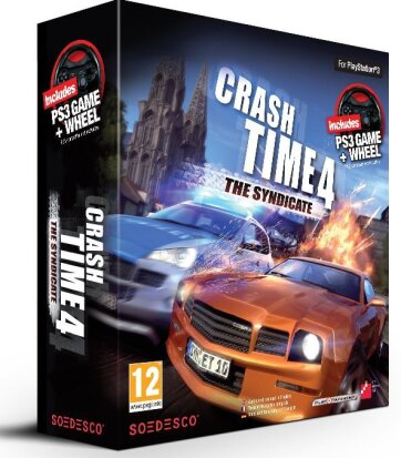 Crash Time 4 Syndicate PS-3 + Lenkrad