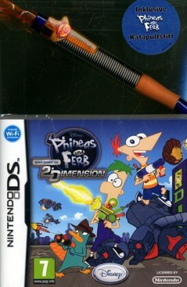 Phineas & Ferb: Quer durch die 2. Dimension inkl. Katapultstift