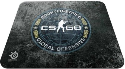 QcK + CS: GO Edition Mousepad