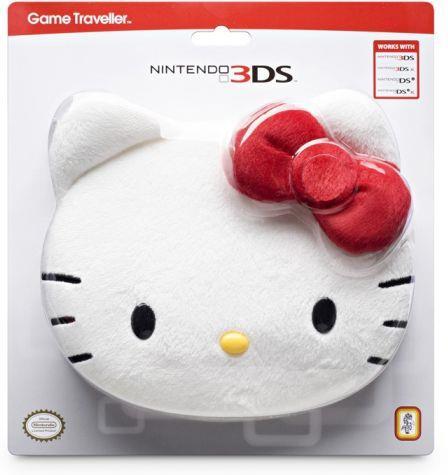 Game Traveller Hello Kitty Plüsch [3DS XL/3DS/DSi XL/DSi]