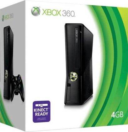 XB360 Konsole 4 GB
