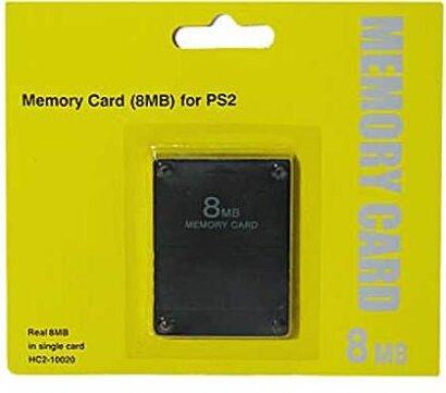 PS2 Memory Card 8MB EX