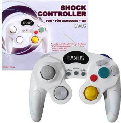 Game Cube Controller analog white EX incl. Shock, auch für Wii