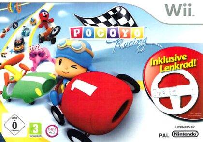 Pocoyo + Lenkrad Wii