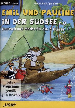 Emil & Pauline in der Südsee 2 - Deutsch und Mathe Klasse 2