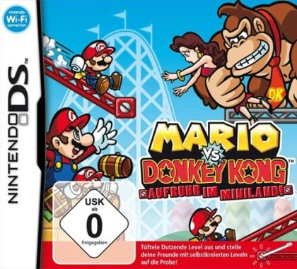 Mario vs Donkey Kong 3 Aufruhr im Miniland