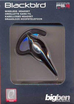 PS3 Headset Bluetooth BIGBEN Blackbird