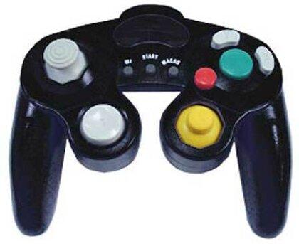 Game Cube Controller analog black EX incl. Shock, auch für Wii