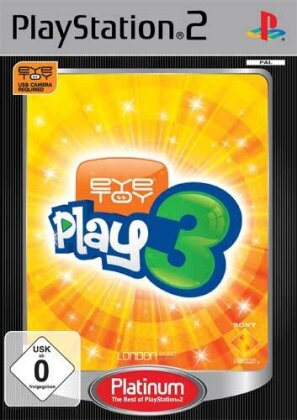 Eye Toy Play 3 Platinum